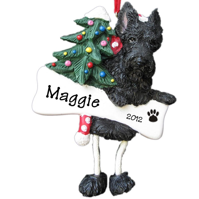 Labradoodle Christmas Ornaments