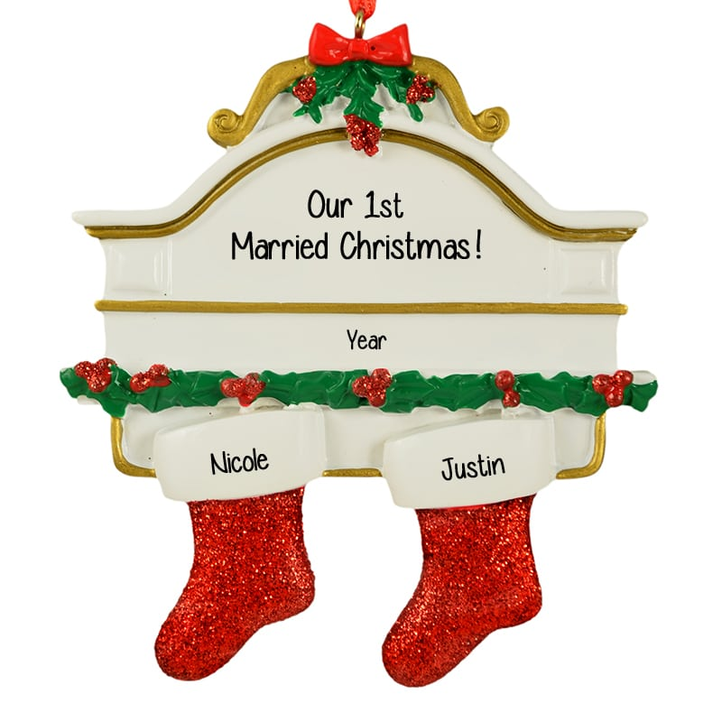 best seller - Our First Married Christmas Ornament