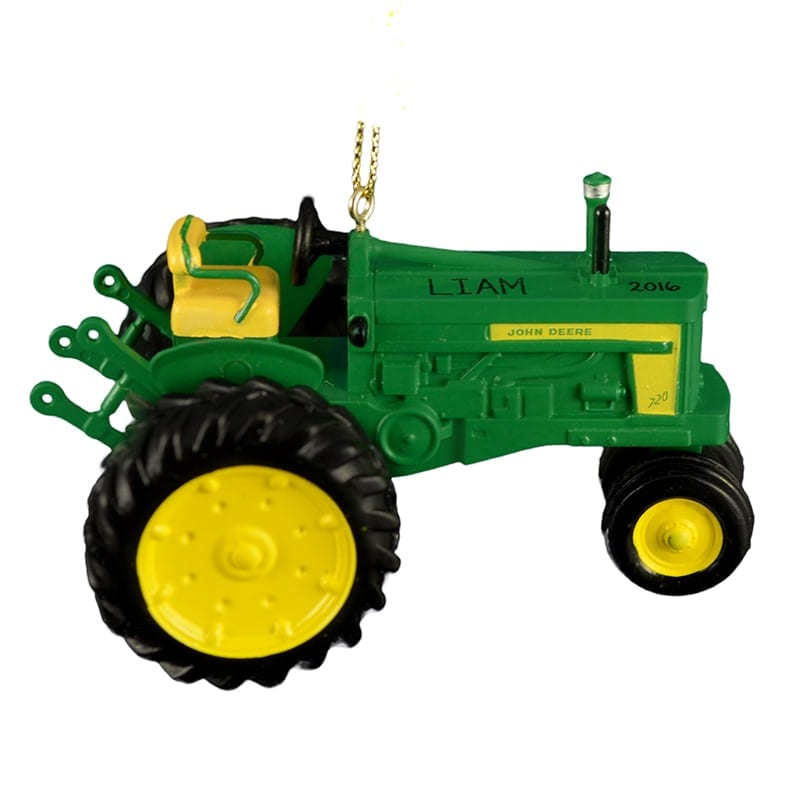 Personalized John Deere 720 Diesel Tractor Ornament | Personalized ...