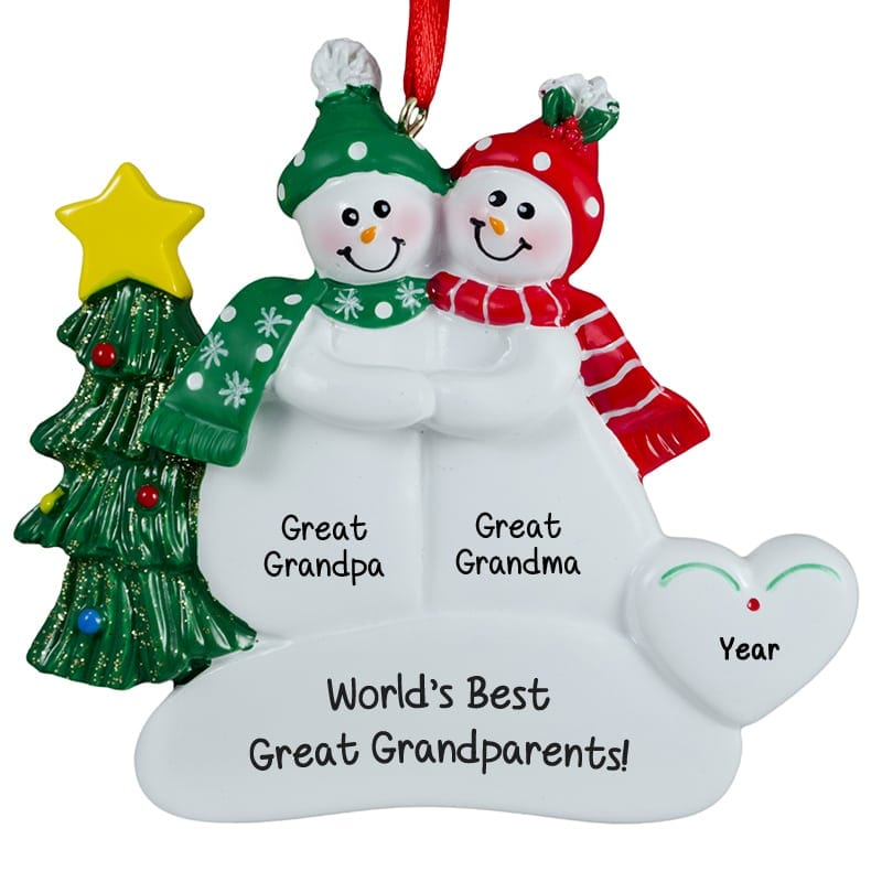 1st Christmas Ornaments Couple