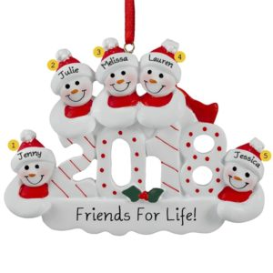 five or more friends ornaments archives personalized ornaments for you