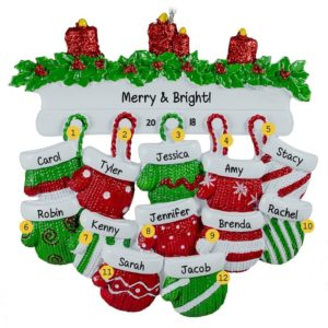 f6ac5d2b Family or Group of Twelve Ornaments Archives - Personalized ...