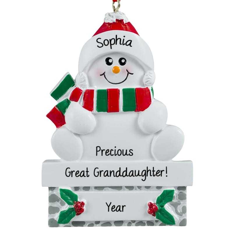 Personalized 1st Christmas Ornaments