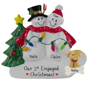 Engagement Ornaments Archives Personalized Ornaments For You