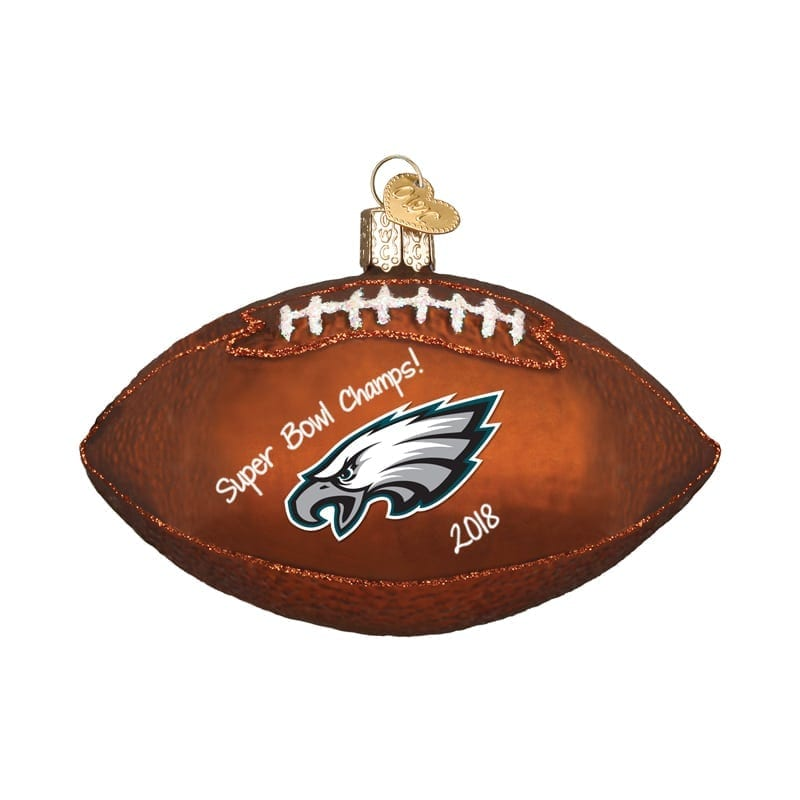 Philadelphia Eagles Official Nfl 3 Inch X 4 Chalkboard Sign Christmas Ornament By Forever Collectibles