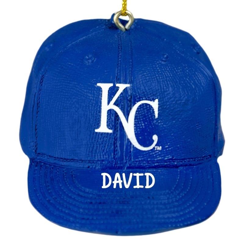 Kansas City Royals Baseball Cap Personalized Ornament | Personalized ...