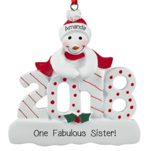 sister ornaments personalized ornaments for you