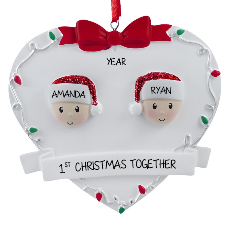 First Christmas As A Married Couple Ornament