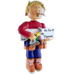Mr  & Ms  Fix-it Ornaments Archives - Personalized Ornaments