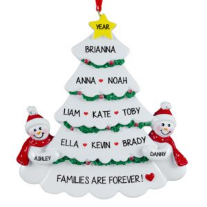 Family Or Group Of Eleven Ornaments Archives Personalized Ornaments For You