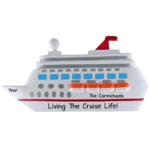 Cruise Ornaments Archives - Personalized Ornaments For You