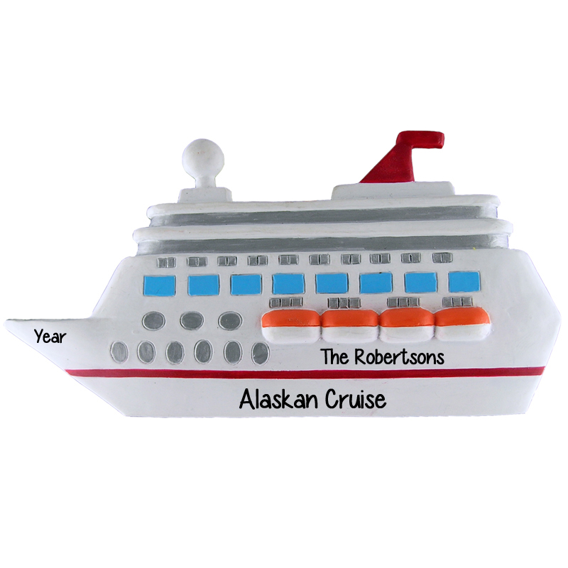 Last Day To Ship For Christmas 2019.Personalized Cruise Ship Christmas Tree Ornament